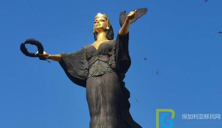 保加利亚圣索非亚女神像