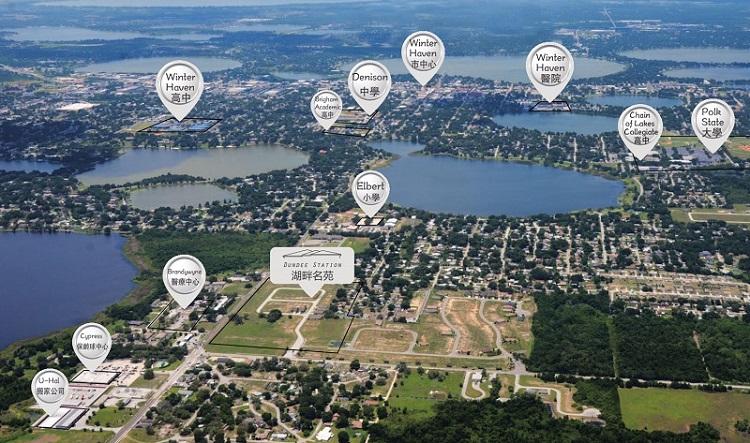 湖畔名苑区域及规划图