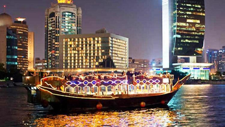 迪拜著名景观迪拜云溪港