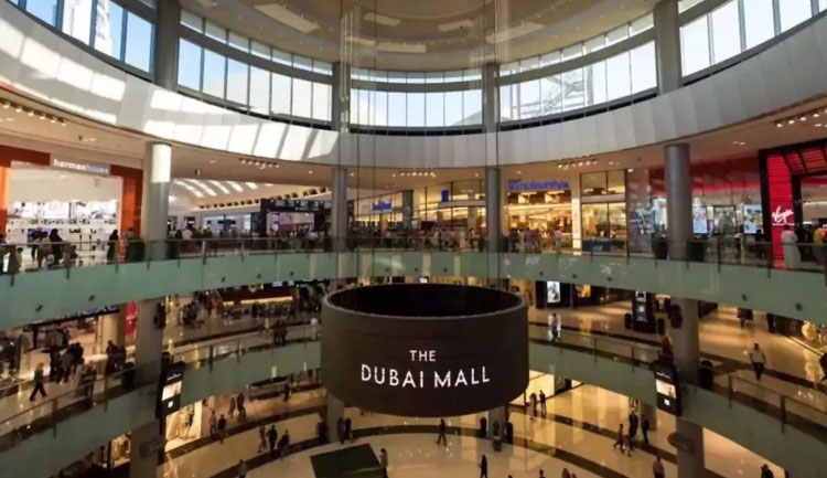 世界最大购物中心 Dubai Mall