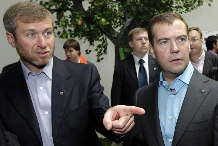 俄罗斯亿万富翁罗曼?阿布拉莫维奇